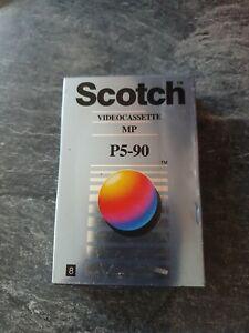 1x SCOTCH P5-90 mp  Video8 / 8mm / Hi8 VIDEO CAMCORDER TAPE / CASSETTE new