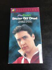 Better Off Dead Vhs Tape Movie John Cusack