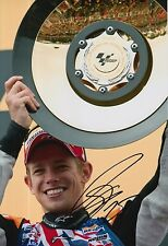 Casey Stoner mano firmado Repsol Honda 12x8 Foto MotoGP 3.