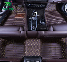 3D car floor mat Front & Rear Liner foot pad for Nissan Sunny Left hand driver