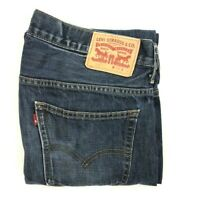 Levi's Men's 569 Factory Distressed Relaxed Denim Jeans - Size W32 L34