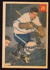 1954-55 PARKHURST #32 BOB BAILEY - TORONTO MAPLE LEAFS - HOCKEY CARD