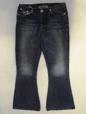 Take Two  Jeans Hose Schlaghose Blau Stonewashed W28 L32