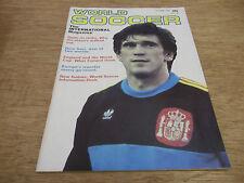 Football Magazine World Soccer October 1984 Dino Sani Olympics Special Benfica
