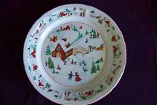 Farberware White Christmas dinner plate dinnerware