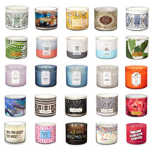 1 Bath & Body Works Candle -3 wick PB & J, Tropical Banana,Lilac Summer candles
