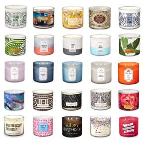 1 Bath & Body Works Candle -3 wick PB & J, Tropical Banana,Lilac Summer candles