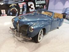 Franklin Mint 1940 Lincoln Zephyer Convertible 1/24 Scale Model High Detail