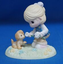 Girl Scout Daisies Sharing Heart Precious Moments Blond Figure 104029