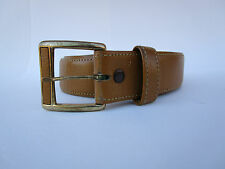 Vintage Hickok Imported Top Grain Cowhide Leather Western Tan Belt S 30 - 32
