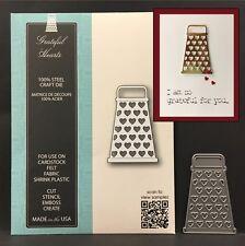 GRATEFUL HEARTS metal die - Memory Box dies 99631 All Occasion,food,kitchen,love