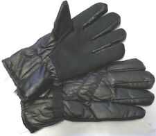 MEN DRIVING SPORT HANDS GLOVES DOTS GRIP FUR WINTER WARM BLACK M/L/XL GIFT IDEA
