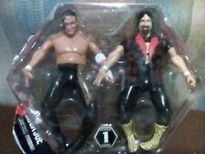 TNA Samoa Joe Mick Foley Wrestling figure Deluxe Toy NXT WWE Cactus Jack New