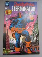 DEATHSTROKE THE TERMINATOR # 1 - 1991 DC Comics High Grade 2