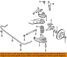 GM OEM Front-Lower Control Arm 12383512