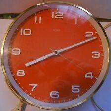 horloge murale metamec - metamec wall clock