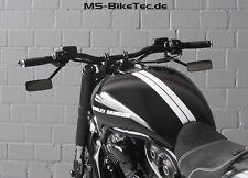 "Spiegel ""Kuro"" schwarz Harley Davidson V Rod Night Rod Special Muscle"