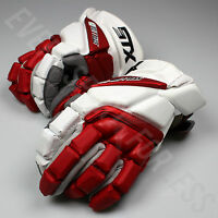 NEW STX Lacrosse Stallion HD LAX Gloves - Red/White Lists @ $150