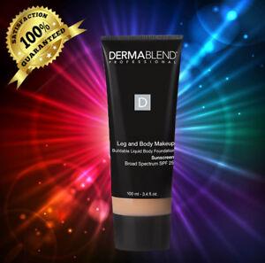 Dermablend Leg and Body Suntan( MEDIUM NATURAL) 3.4 fl oz (100 ml)NIB SEALED