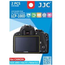 JJC LCP-100D hard polycarbonate LCD Guard Film Screen Protector Canon SL1 100D