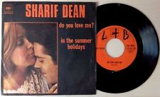 "SHARIF DEAN / DO YOU LOVE ME ? - IN THE SUMMER HOLIDAYS - 7"" (Italy 1972)"