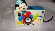 New listing Vintage Walt Disney'S Mickey Mouse Camera, Helm Toy, No Box