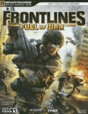 Xbox 360 : Frontlines Fuel Of War Strategy Guide VideoGames