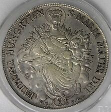 Hungary 1776 Maria Theresa Silver Thaler PCGS XF