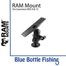 RAM Mounts for Lowrance HDS 9 & 12, Elite 12 Ti, SIMRAD 9 & 12