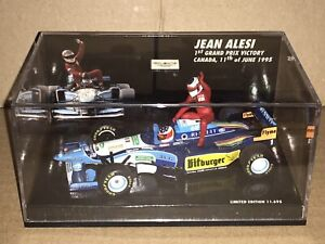 Minichamps Michael Schumacher Collection Ferrari auf Jean Alesi Benetton
