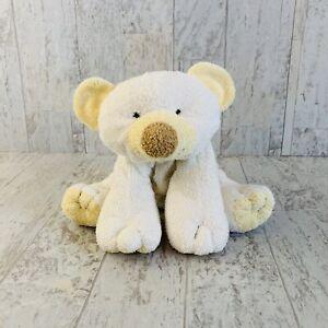 "Ty Pluffies Cloud the White Polar Bear Stuffed Animal Plush 2002 9"""