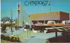 Expo 67 Montreal Canada India Pavilion Postcard - Unused Excellent