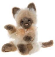 Precious - Secret Collection - plush kitten cat by Charlie Bears - CB202054A