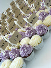 30 i do Handmade Cupcake Toppers ~ Cake Toppers ~ Wedding Toppers