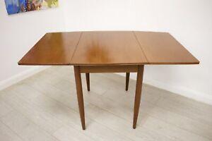 DELIVERY £50 Mid Century Teak Danish Drop Leaf Dining Table