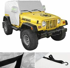 Waterproof Cover Uv Protection Car Cover For Jeep Wrangler Tj 1997 2006 Fits Jeep