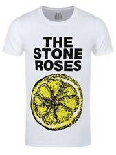 The Stone Roses Lemon 1989 Tour MENS White size LARGE T-Shirt New