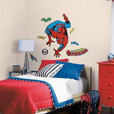 RoomMates - Marvel Spider-Man Comic - Wandtattoo Wandsticker Wandaufkleber Wandb