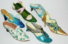 """6 """"Just The Right Right Shoe"""" Figurines ~ Raine Signed Shoes"""
