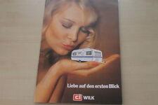 178074) CI Wilk Wohnwagen - Sport Safari Stern - Prospekt 1976