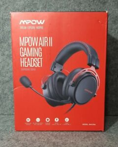 MPOW AIR 2 Wired Gaming Headset Open Box New Free Shipping Model (BH439A)