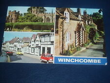 Vintage Postcard * WINCHCOMBE - multiview - English stamps.