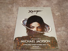 "Michael Jackson in Xscape promotional ad ""Xscape lives up to the legend."""