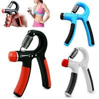 Adjustable Strengthener Hand Power Grip Forearm Wrist Resistance 10-40kg Fitness