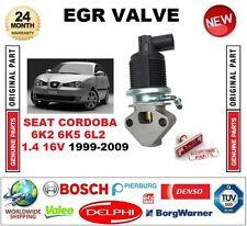 FOR SEAT CORDOBA 6K2 6K5 6L2 1.4 16V 1999-2009 Electric EGR VALVE 5PIN PLUG