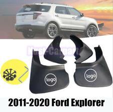 FOR 2011-17 18 19  Ford Explorer Mud Flap Flaps Splash Guards Mudguards 4pcs
