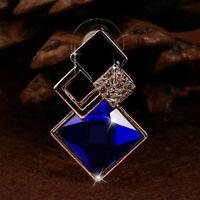 Charme Diamant Ohrringe Frauen Kristall Geometrische Geschenk Schmuck Creol F5I5