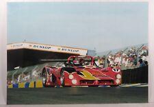 PHOTO cm13x17 LE MANS 1996 FERRARI 333 SP WSC #17 Team Scandia ARCHIVES GASNERIE