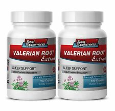 Gaba - Valerian Root Extract 4:1 125mg - Natural Way Helping Health Problem 2B