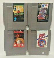 Tecmo MLB Bases Loaded II Baseball -  Nintendo NES Authentic Game Tested Works